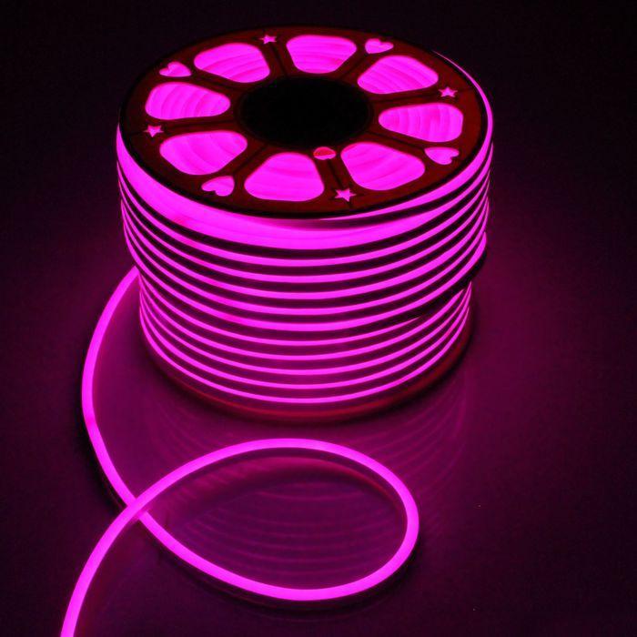 Гибкий неон, 8х16 мм, 100 м, LED/м-80-SMD5050-220V, RGB
