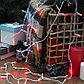 """Гирлянда """"Нить"""" 5 м , IP20, белая нить, 50 LED, свечение красное, 8 режимов, 220 В, фото 4"""