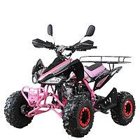 Квадроцикл бензиновый MOTAX ATV T-Rex Super LUX 125 cc, Черно-розовый