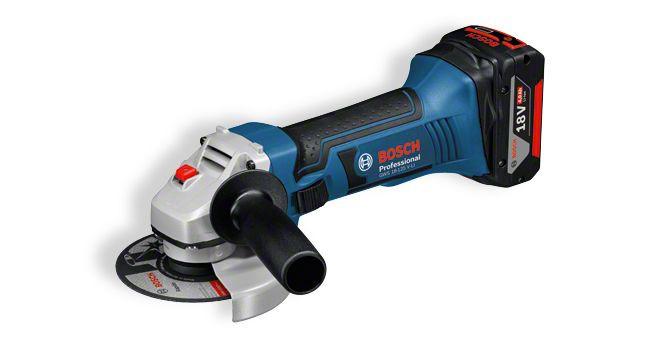 Аккумуляторная угловая шлифмашина GWS 18-125 V-LI Professional
