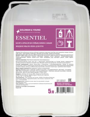 Essentiel пенное мыло для рук, 5 литров (наливное)