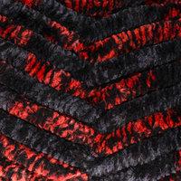Пряжа 'Dolphin animal colors' 100 полиэстер 90м/100гр (83105 красно-чёрный)