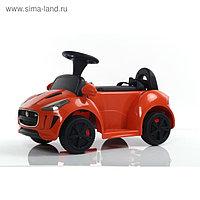 Электромобиль JAGUAR F-TYPE, цвет оранжевый