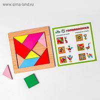 Головоломка «Строй фигуры и узоры», квадрат