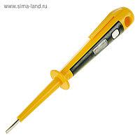 Отвёртка индикатор напряжения TOPEX, 140 мм, 125-250 В, профилированная рукоятка