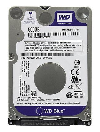 """Жесткий диск для ноутбука  500Gb WD Blue SATA 6Gb/s 2.5"""" 5400rpm 16Mb, фото 2"""