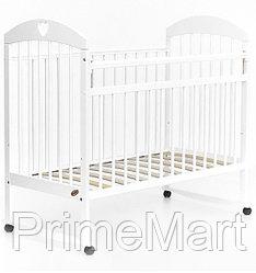 Кровать детская Bambini Комфорт M 01.10.18 Белая