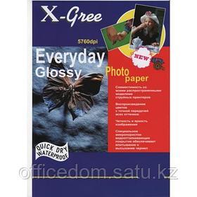 Фотобумага X-GREE EVERYDAY 210 г/м2, A4, 50л., односторон., глянец, для струйных принтеров