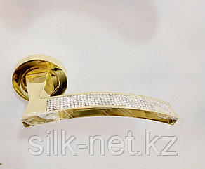Дверная ручка adelli 58153 pvd золото