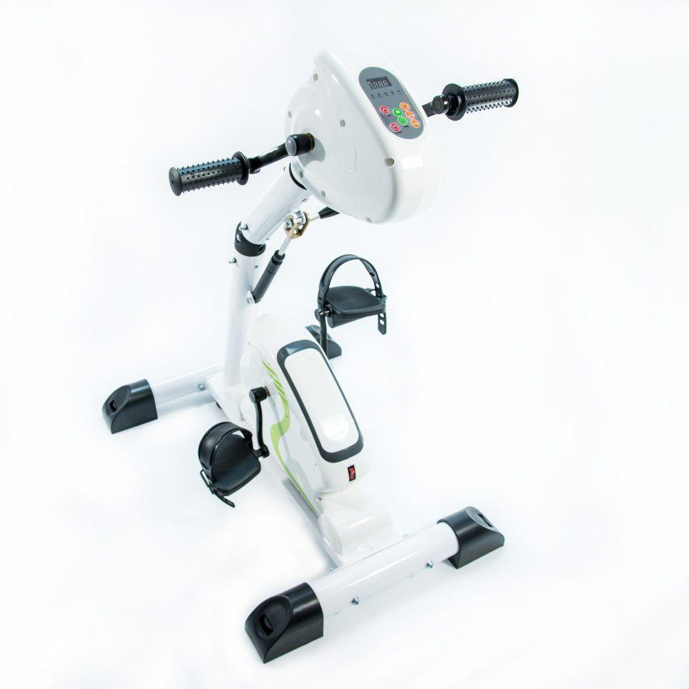 Велотренажер педальный двухмоторный Мега-Оптим HSM-20CE - фото 1
