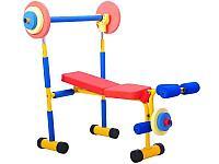 Детский тренажер скамья для жима (JD03)