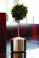 Кашпо с автополивом для растений из нержавеющей стали, Серия Steel производитель HobbyFlower Spain