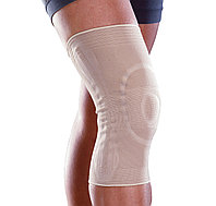 Бандаж коленный Orliman 8103 с закрытой коленной чашечкой, пружинными ребрами жесткости. и силиконовой