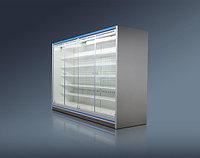 Холодильная горка Женева-1 ВС 55.95GH-1250 (стеклянный фронт) Ариада