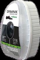 """Щётка(губка) с дозатором силикона """"DAMAVIK"""" для изделий из гладкой кожи."""