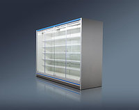 Холодильная горка Женева-1 ВС 55.95GH-2500 (стеклянный фронт) Ариада