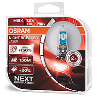 Галогенная лампа HB4 9006 OSRAM NIGHT BREAKER LASER +150%