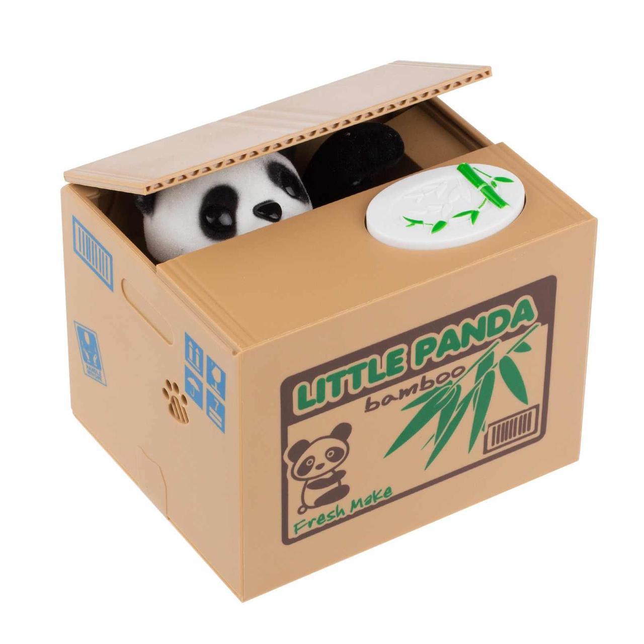 Уценка! Копилка Панда-воришка