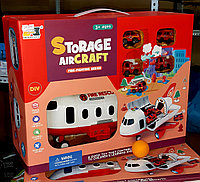 Игровой набор, самолет с машинками, парковка, фото 1