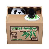 Уценка (товар с небольшим дефектом) Копилка Панда-воришка