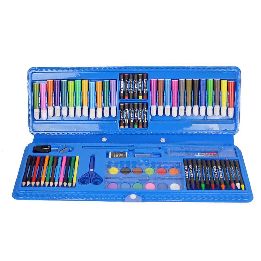 Уценка (товар с небольшим дефектом) Набор для рисования (92 предмета)
