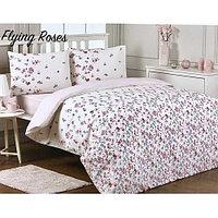 Комплект постельного белья Ozdilek Modaletto Flying Roses 2сп