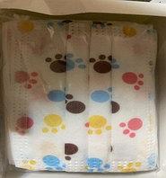 Детские трехслойные гипоаллергенные маски (оптом и в розницу