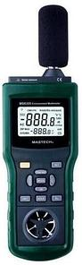 Аренда Многофункционального тестера окружающей среды Mastech MS6300