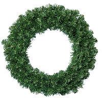 Венок еловый  d90см зеленый Императорский 270веток
