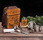 Набор для пикника на 2 персоны в чехле 17 предметов, фото 3