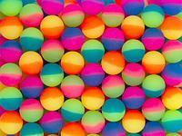 """Мячи 25 мм """"25TDS03 Цветной лед"""" (100 шт в уп)"""