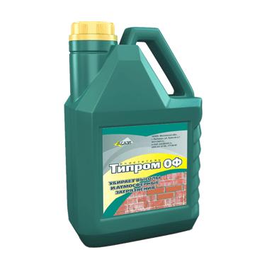 Очиститель фасадовТипром ОФ 5 л СТО 128-32478306-2014