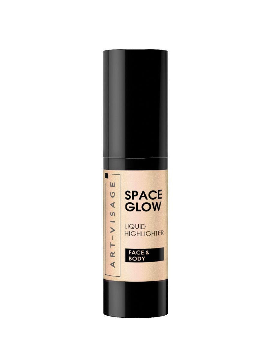 Art-Visage / Жидкий хайлайтер SPACE GLOW, тон 21 sunset Цвет: золотистый