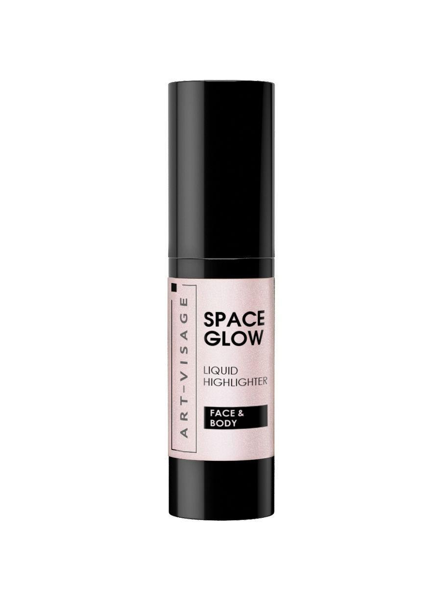 Art-Visage / Жидкий хайлайтер SPACE GLOW, тон 22 pearl Цвет: серебристый