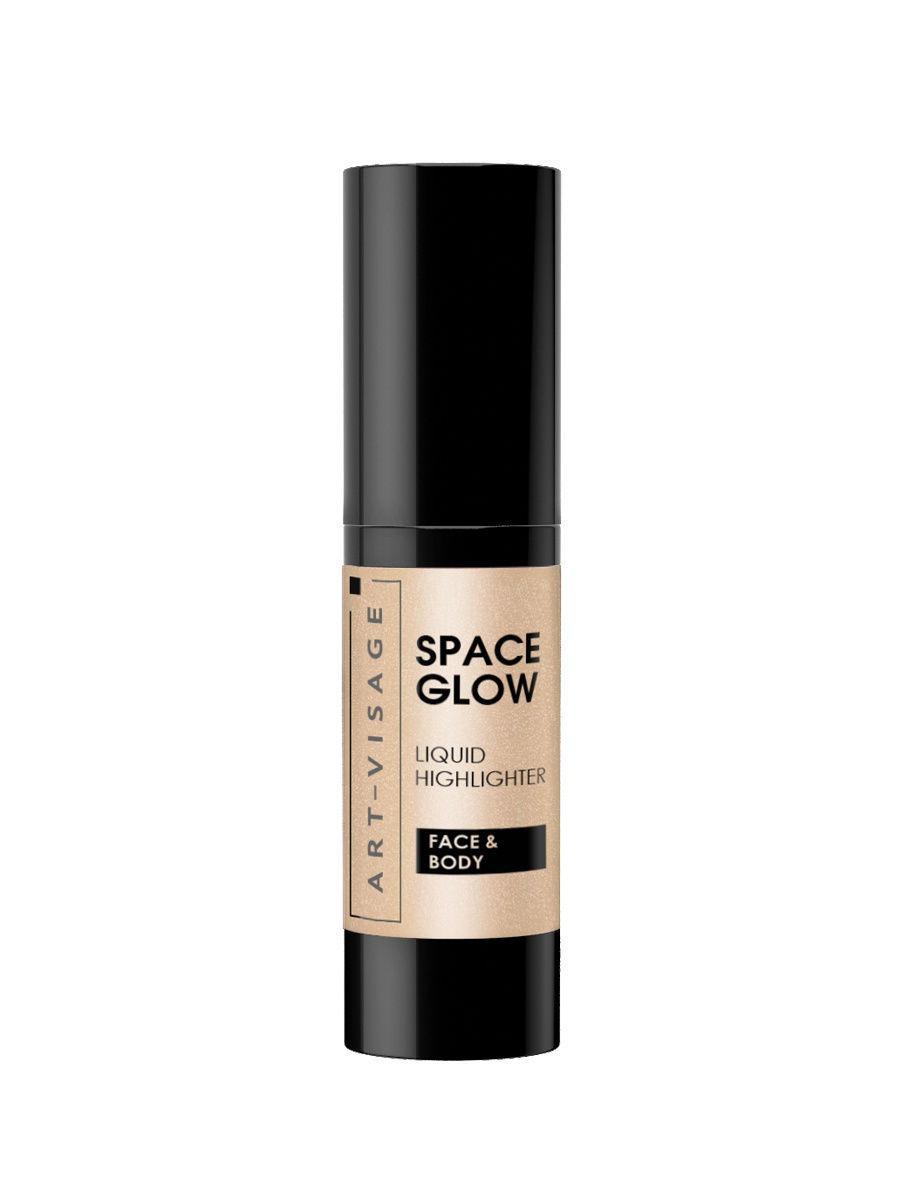 Art-Visage / Жидкий хайлайтер SPACE GLOW, тон 23 sandy Цвет: серебристый, розовый