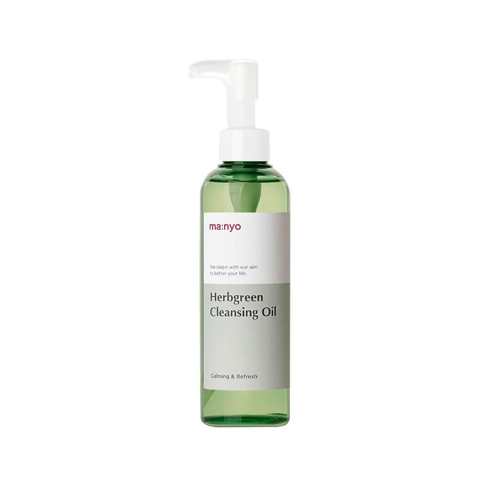 Гидрофильное масло на основе комплекса трав, Manyo Factory Herb Green Cleansing Oil