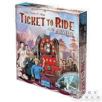 Настольная игра: Ticket to Ride: Азия, арт. 915274