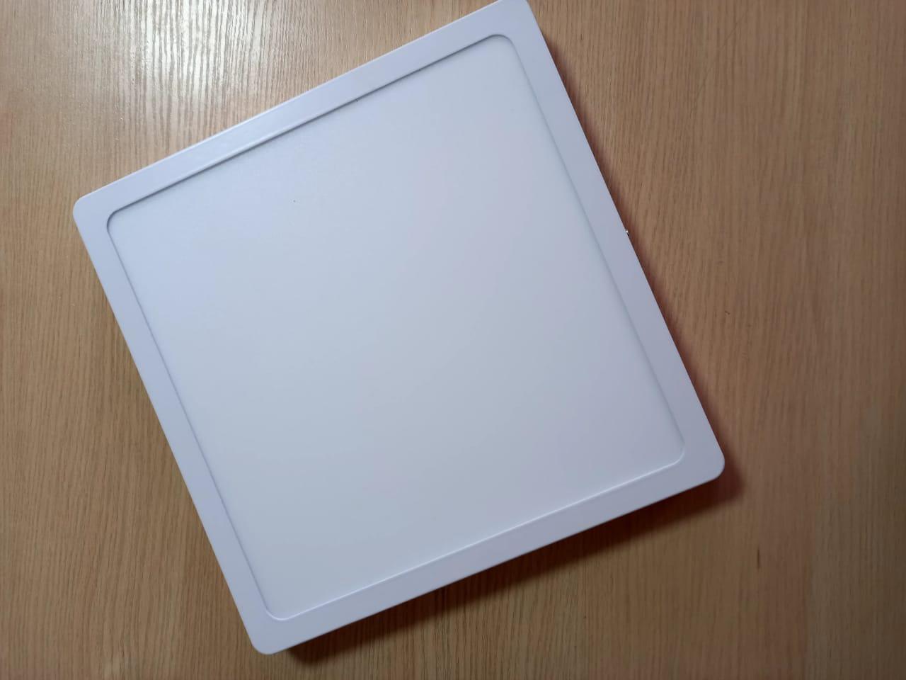 Панель светодиодная внешняя  квадратная LED 24 W