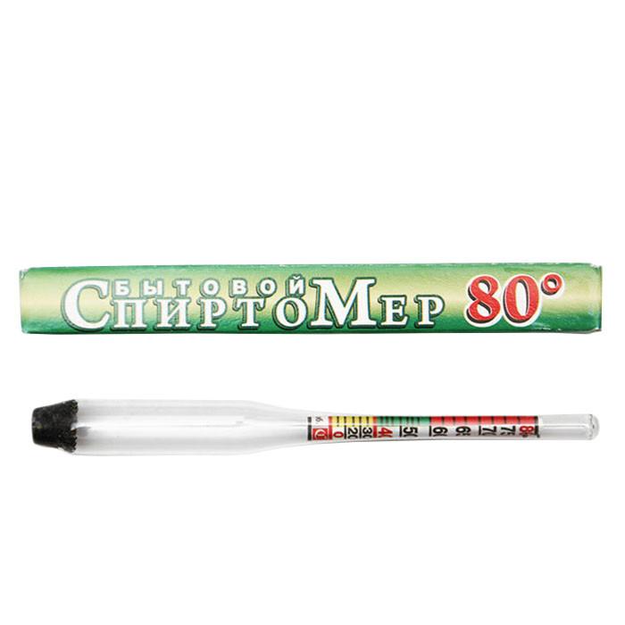 Ареометр-спиртометр: 0-80%