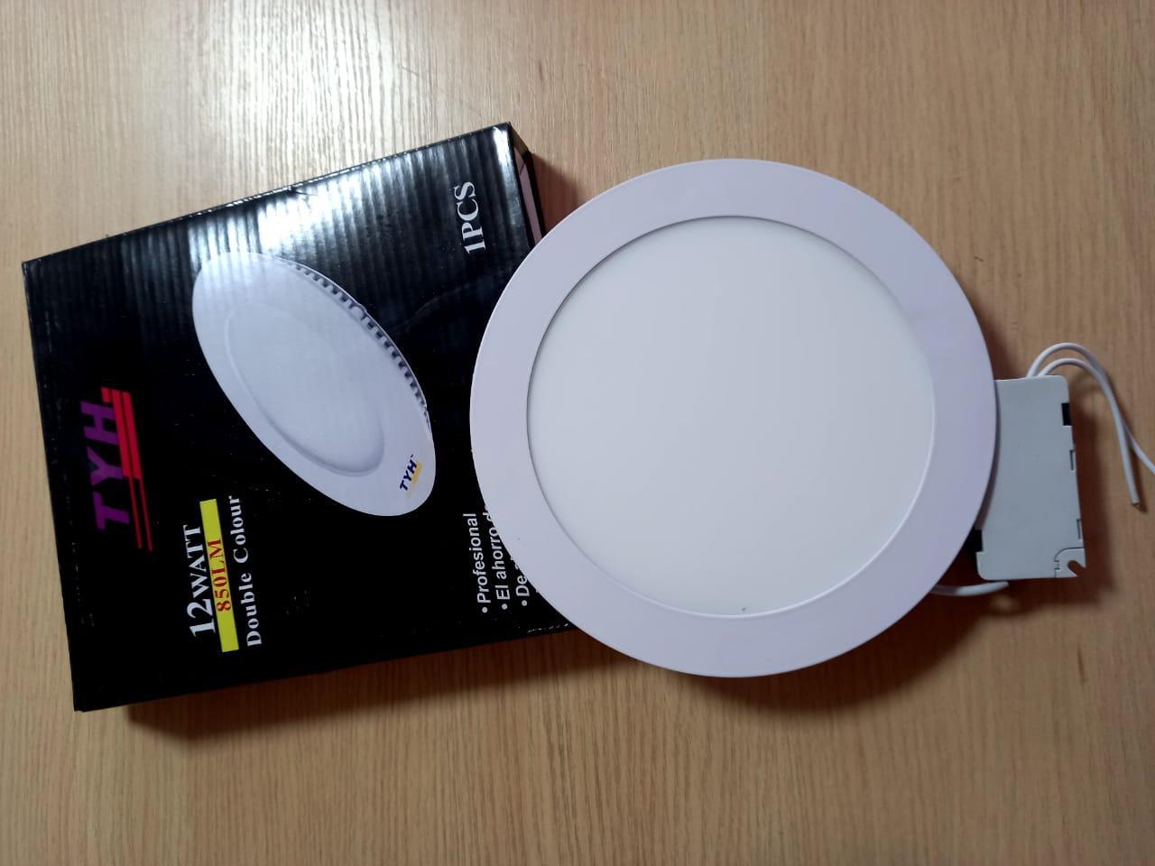 Панель светодиодная внутренняя круглая LED 12 W