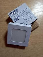 Панель светодиодная внешняя квадратная 6 W/ VEK electric