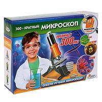 """Набор для опытов """"Школа ученого"""" Микроскоп, увеличь в 300 раз"""