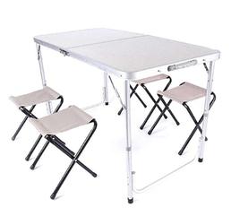 Стол раскладной + 4 стула