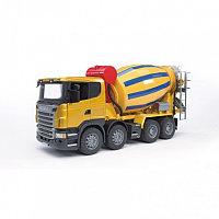 Bruder Игрушечная Бетономешалка Scania (Брудер) (уценка)