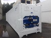 Рефконтейнер 40 футов Carrier 2007 г. №NARU1693573