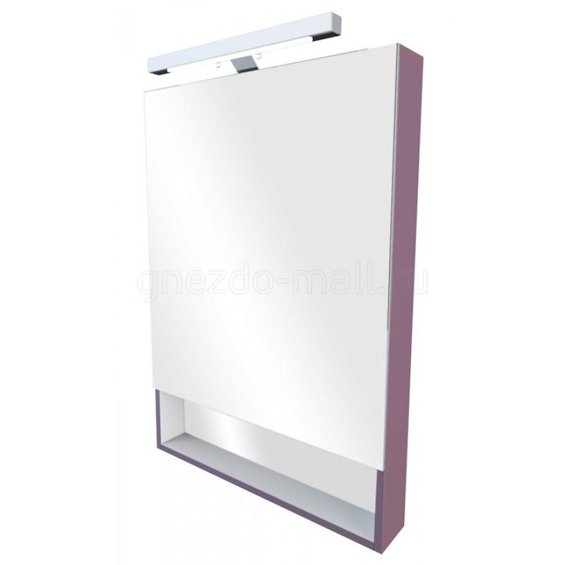 Зеркало-шкаф Gap 60 см, фиолетовое, ZRU9302751 - фото 1