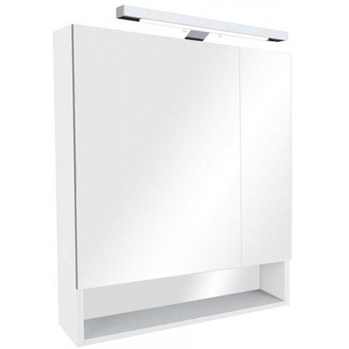 Зеркало-шкаф Gap 80 см, белый, ZRU9302750