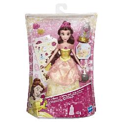 Disney Princess: КУКЛА ПРИНЦЕССА ДИСНЕЙ СВЕРКАЮЩАЯ БЕЛЛЬ