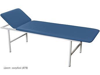 Кушетка медицинская смотровая МД КС голубой