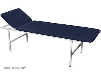 Кушетка медицинская смотровая МД КС синий